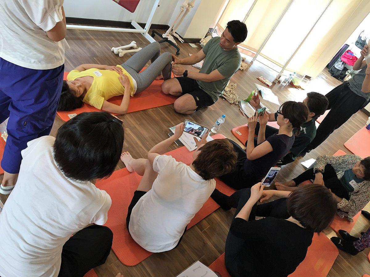 広島 解剖学コンディショニング 超入門ミニ講座