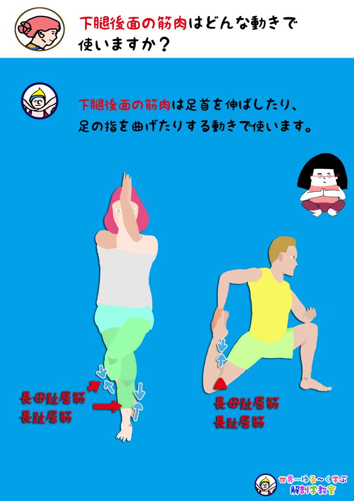 足指屈筋を使う動き